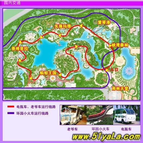 北京旅游地图图片