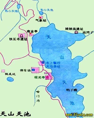 新疆旅游地图 新疆旅游地图介绍