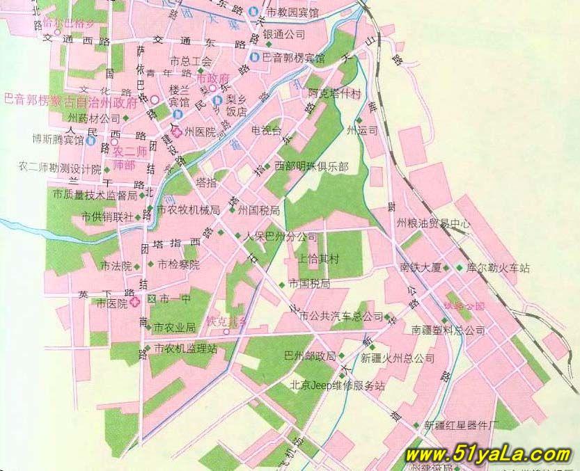 新疆旅游地图图片