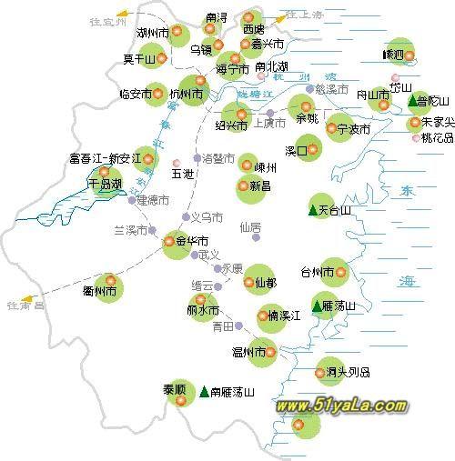 浙江地图全图大图