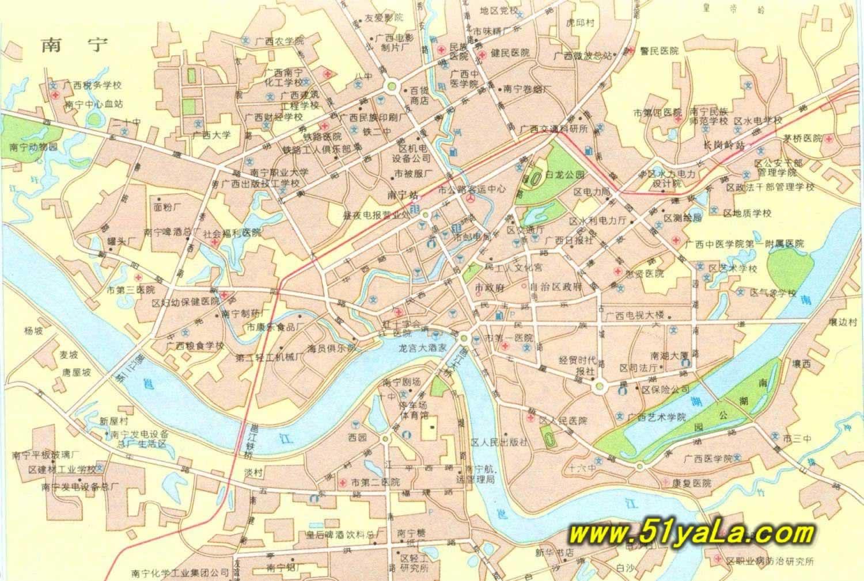 南宁市旅游景点地图_广西旅游地图 广西旅游地图介绍 广西旅游地图网 中国旅游网