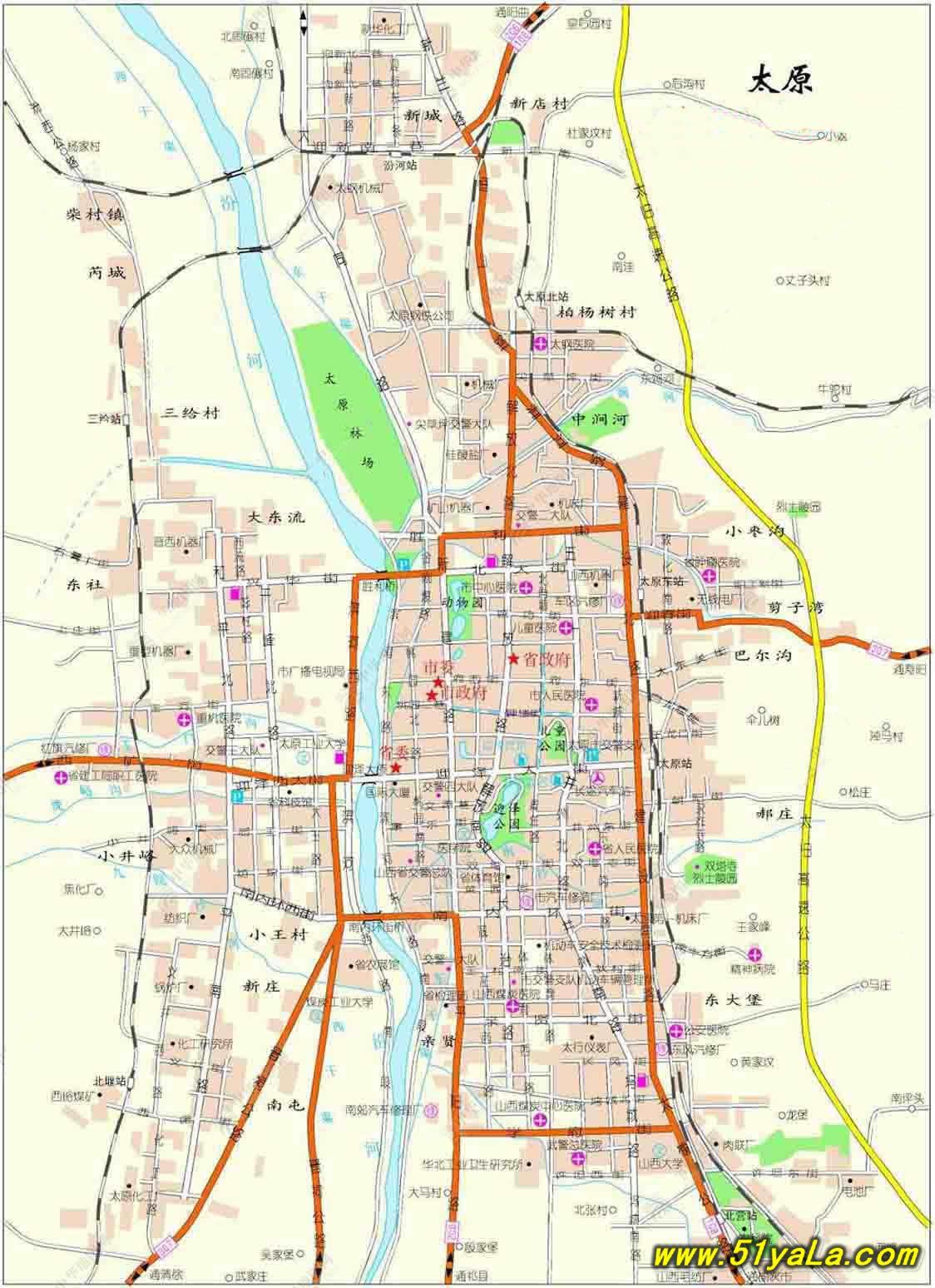 太原市地图 太原市卫星地图 太原市 高清航拍-太原地图 太原地图最新